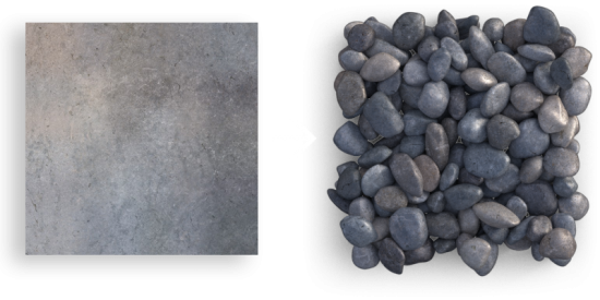 Gravel #1, Inherent Variation