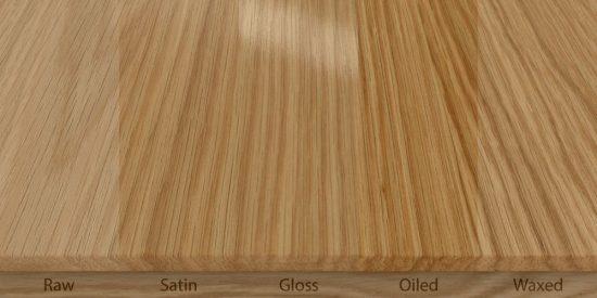Wood #3, Finishes
