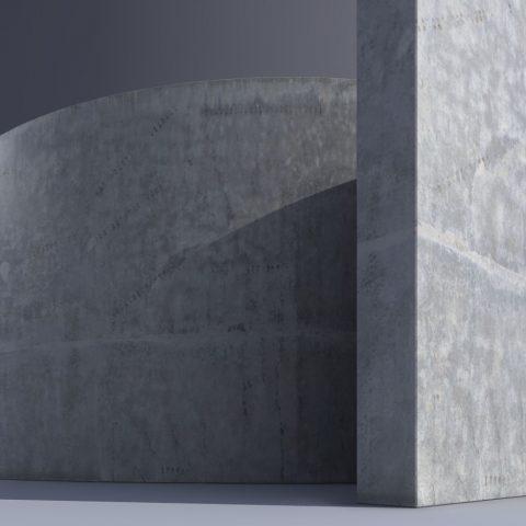 Concrete #1, Demo